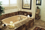 European House Plan Master Bathroom Photo 01 - 024D-0062 | House Plans and More