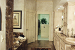 Country French Home Plan Master Bathroom Photo 02 - 024D-0062 | House Plans and More