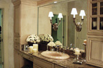 Country French Home Plan Master Bathroom Photo 04 - 024D-0062 | House Plans and More