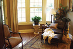 Country French Home Plan Sitting Room Photo 01 - 024D-0062 | House Plans and More