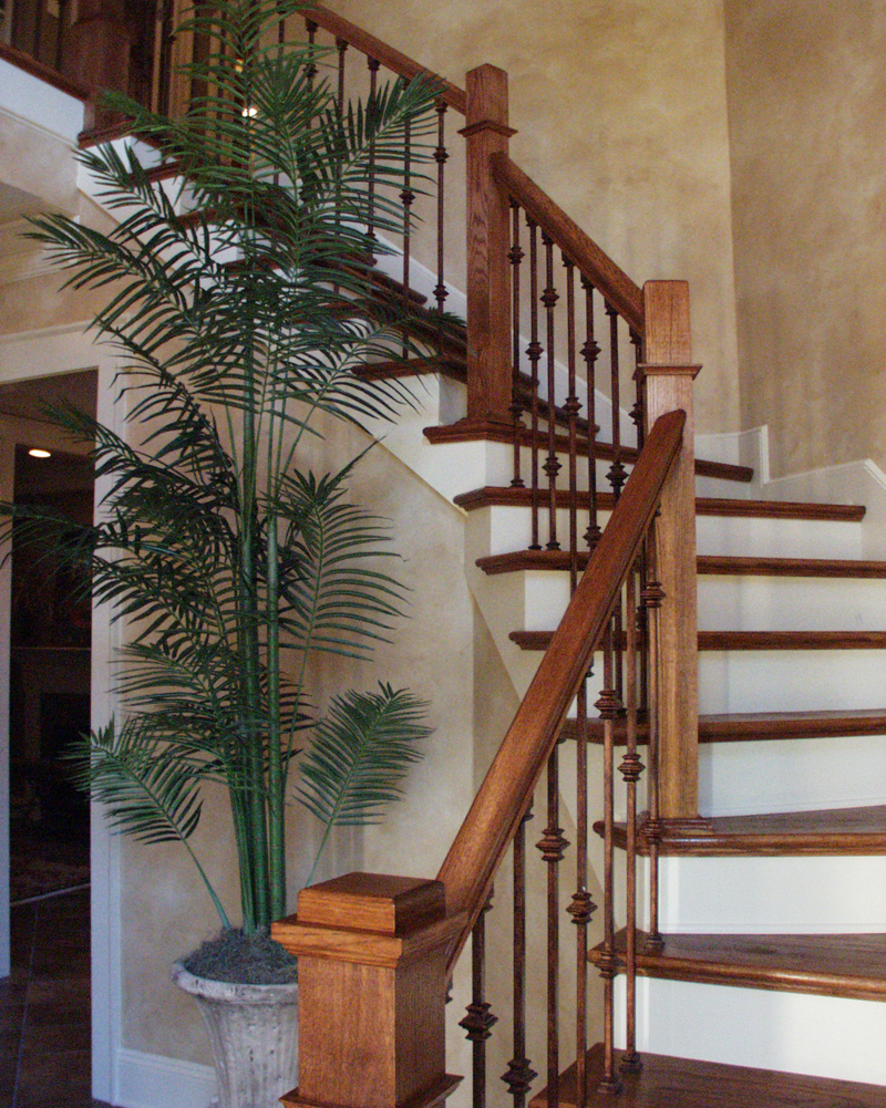 European House Plan Stairs Photo 024D-0062