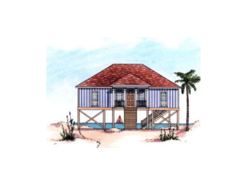 Stoney Hill Raised Beach Home Plan 024D 0085 House Plans