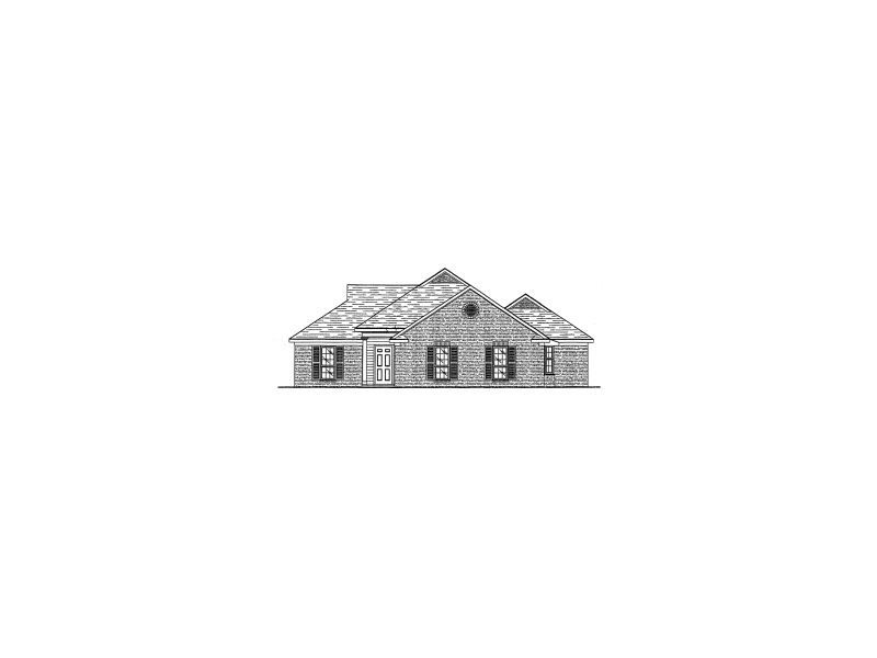 Traditional House Plan Front of Home - 024D-0107 | House Plans and More