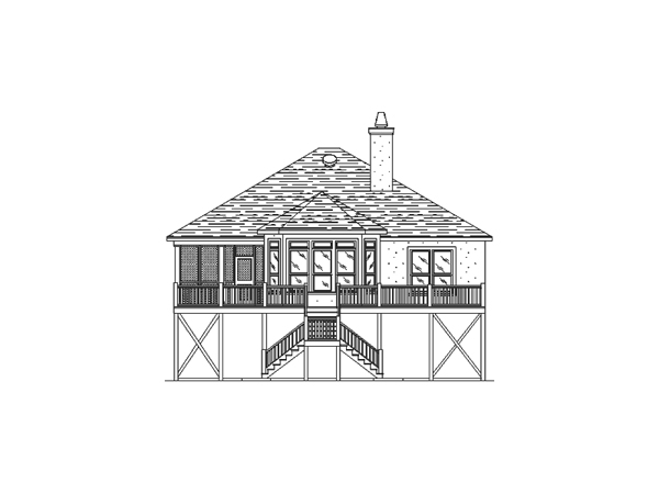 Kiawah island beach home plan 024d 0152 house plans and more for Beach house drawing