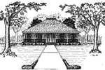 Front of Home -  024D-0167 | House Plans and More