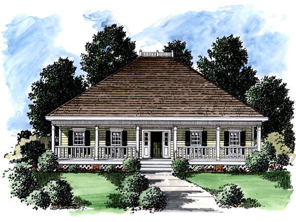 Cannon Plantation Ranch Home Plan 024d 0170 House Plans