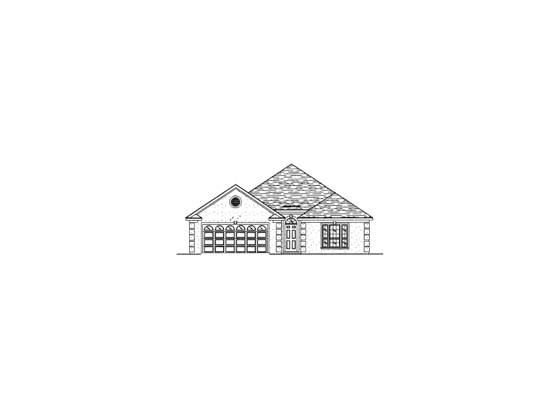 Traditional House Plan Front of Home - 024D-0184 | House Plans and More