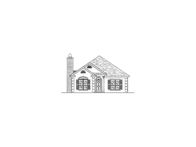 Florida House Plan Front of Home - 024D-0199 | House Plans and More