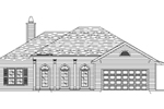 Hip Roof, Columns And Arches Add Distinction