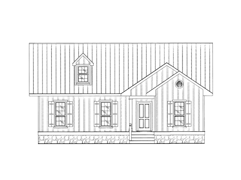 Traditional House Plan Front of Home - 024D-0209 | House Plans and More