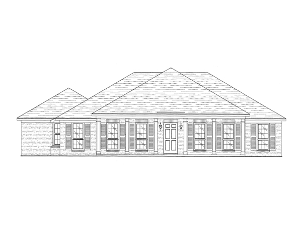 Sandy creek ranch home plan 024d 0219 house plans and more - Full verandah house plans the functional extra space ...
