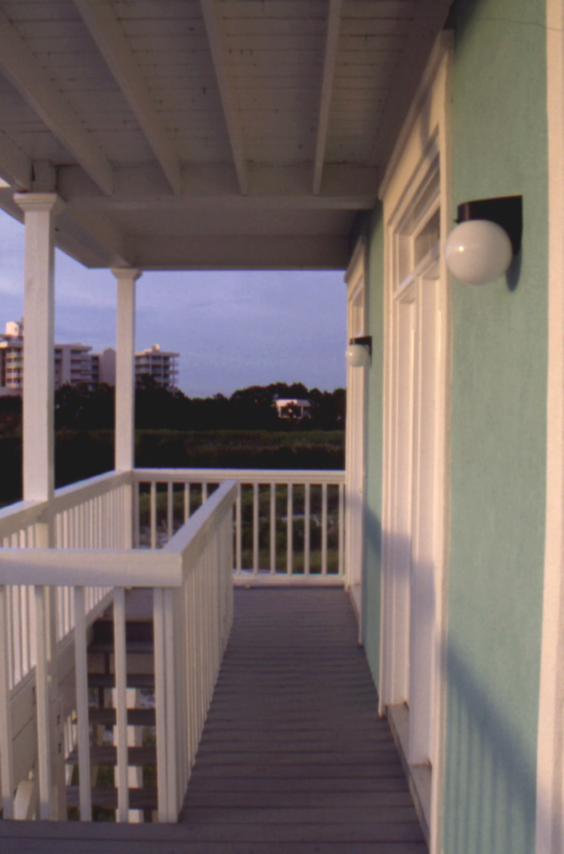 Sunbelt Home Plan Balcony Photo 024D-0242