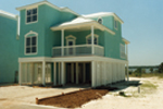 Beach & Coastal House Plan Front Photo 03 - 024D-0242 | House Plans and More