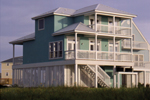 Beach and Coastal House Plan Rear Photo 01 - 024D-0242 | House Plans and More