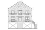 Raised Beach/Coastal Home With Two Covered Porches
