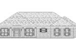 Brick Ranch Home Has Stylish Hip Roof Design