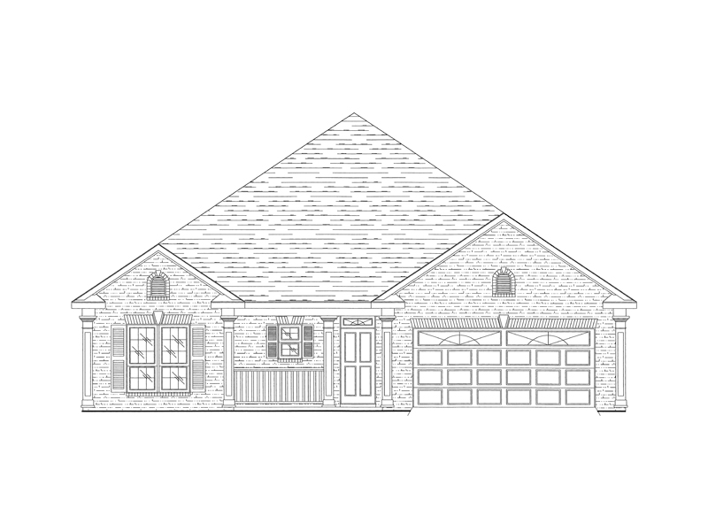 024D-0341-front-main-8 Ranch House Plan With Steep Roof on house plans with dormers, house plans with shingles, house plans with chimneys, house plans with bay windows, house plans with skylights, house plans with siding,