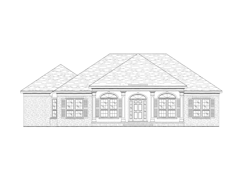 Southern House Plan Front of Home - 024D-0364 | House Plans and More