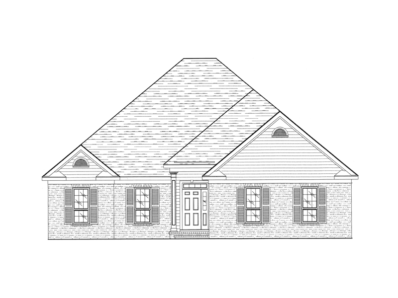 Simple And Elegant Brick And Siding Ranch House