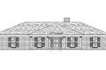 Simple Ranch Style Home With Brick Façade