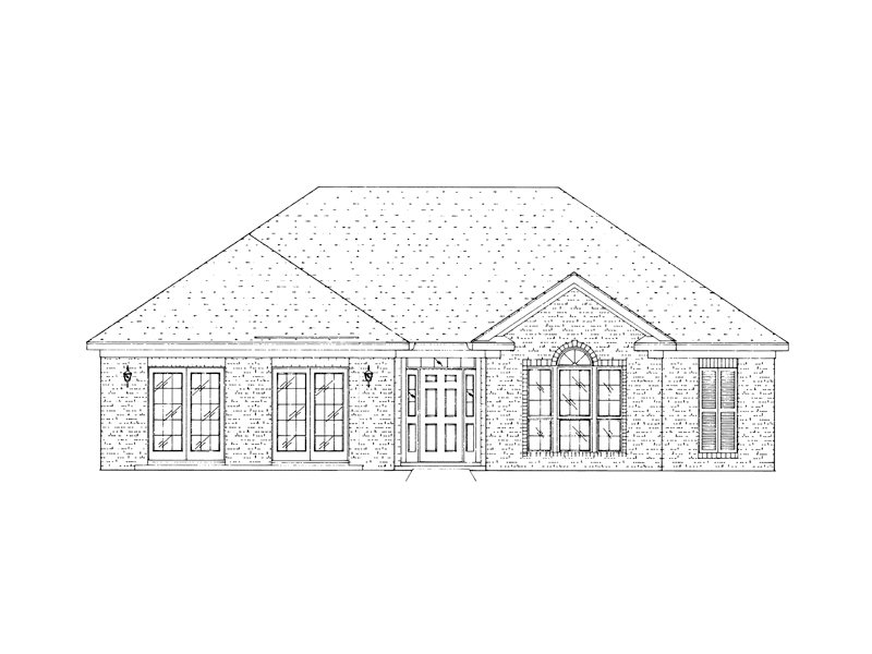 Traditional House Plan Front of Home - 024D-0451 | House Plans and More