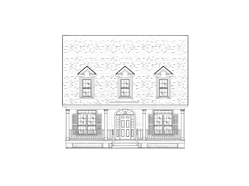 Traditional House Plan Front of Home - 024D-0473 | House Plans and More