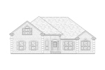 Southern House Plan Front of Home - 024D-0494 | House Plans and More