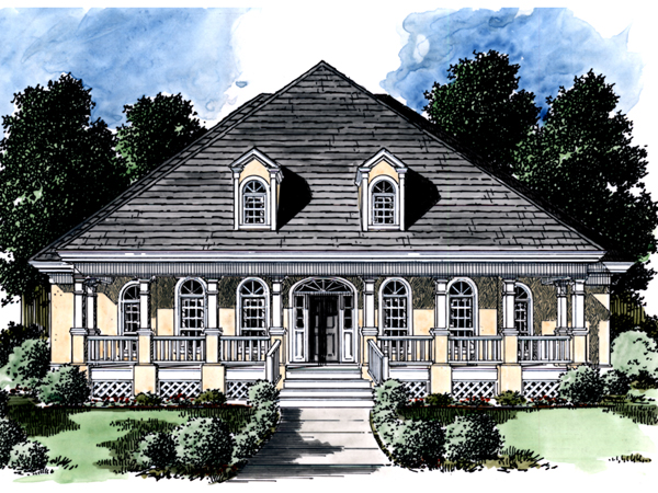 Maloney bayou lowcountry home plan 024d 0511 house plans for Lowcountry home plans