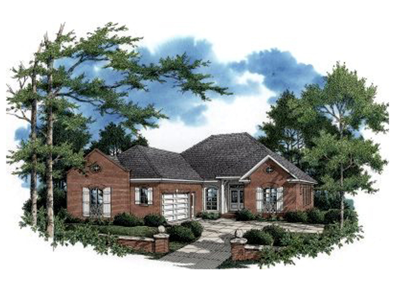 House Plans Garage Side Entry House Plans