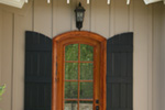 Country French Home Plan Door Detail Photo 01 - 024D-0591 | House Plans and More