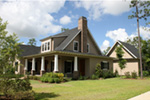 Sunbelt Home Plan Side View Photo 01 - 024D-0591 | House Plans and More