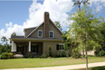 Sunbelt Home Plan Side View Photo 02 - 024D-0591 | House Plans and More