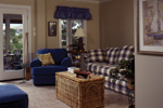 Sunbelt Home Plan Living Room Photo 01 - 024D-0609 | House Plans and More