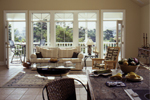 Waterfront Home Plan Living Room Photo 02 - 024D-0609 | House Plans and More