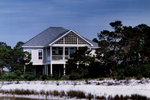 Beach and Coastal House Plan Rear Photo 01 - 024D-0609 | House Plans and More