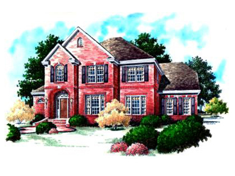 Clasic Traditional Brick Home