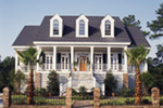 Luxury House Plan Front Photo 01 - 024D-0624 | House Plans and More