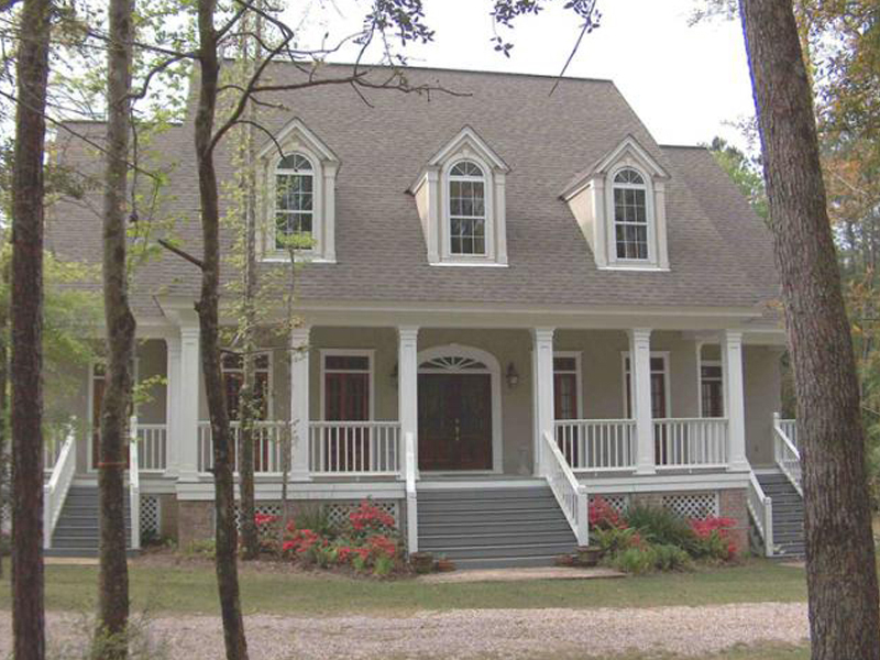 Grand Lowcountry Design With Southern Plantation Style