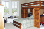 Arts & Crafts House Plan Bedroom Photo 02 - 024D-0644 | House Plans and More