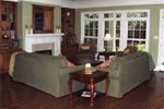 Craftsman House Plan Family Room Photo 01 - 024D-0644 | House Plans and More