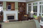 Arts and Crafts House Plan Family Room Photo 02 - 024D-0644 | House Plans and More