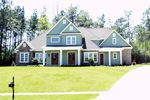 Craftsman House Plan Front of Home - 024D-0644 | House Plans and More