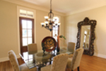 Country French Home Plan Dining Room Photo 01 - 024D-0795 | House Plans and More