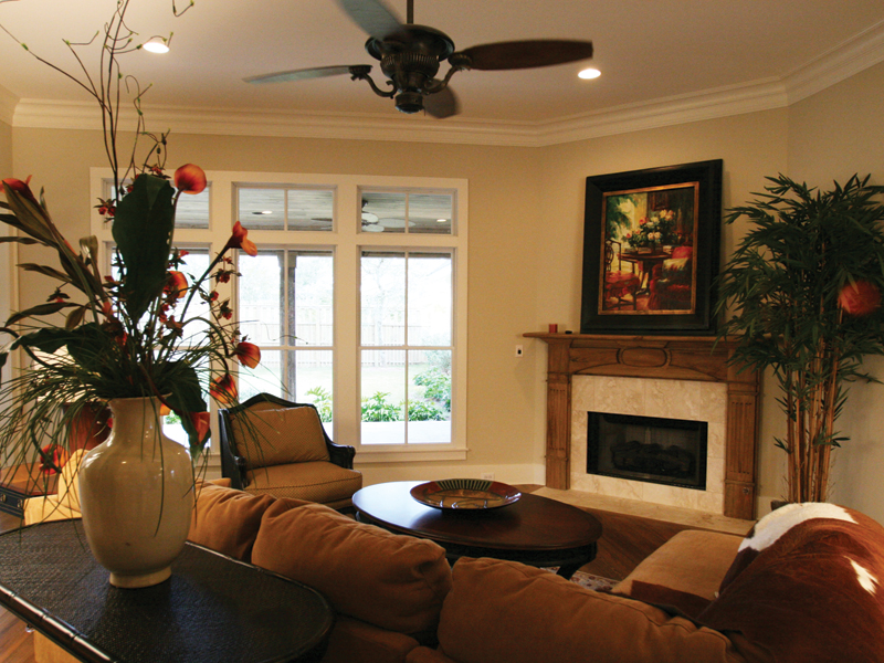 Traditional House Plan Family Room Photo 01 024D-0795