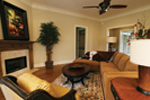 Country French Home Plan Family Room Photo 02 - 024D-0795 | House Plans and More
