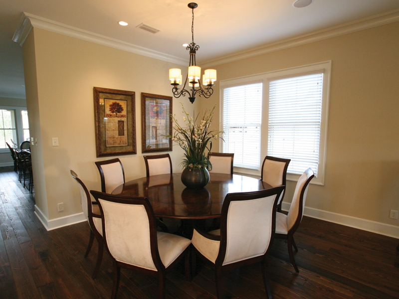 Acadian House Plan Dining Room Photo 01 024D-0797