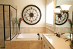 Acadian House Plan Master Bathroom Photo 01 - 024D-0797 | House Plans and More