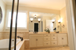 Acadian House Plan Master Bathroom Photo 02 - 024D-0797 | House Plans and More