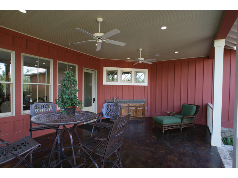 Craftsman House Plan Outdoor Living Photo 01 - 024D-0797 | House Plans and More