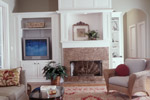 Lowcountry Home Plan Living Room Photo 01 - 024S-0001 | House Plans and More